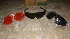 LL BEAN Sport Glasses Sun Interchangeable Lens Polycarbonate Shatter Resistant