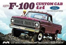 Moebius 1230 1970 Ford F-100 Custom 4x4 Pickup Truck plastic model kit 1/25