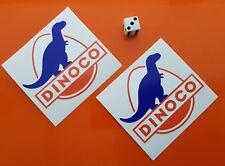 "DINOCO Bumper Sticker Decal approx 3.5"" x 3"""