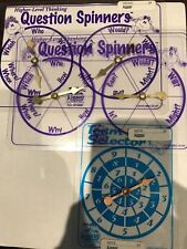 Kagan Spinners - set of 5 - New - Free Shipping