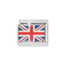 Union Jack flag Italian charm - fits 9mm classic Italian Charm bracelets