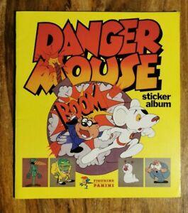 Panini Danger Mouse Sticker Album 1982 Incomplete Vgc