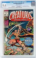 CREATURES ON THE LOOSE #10 Marvel 1971 CGC 9.4 NM 1st Full appearance KING KULL