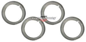 """Holden GTS 14"""" Wheel Trim Ring SQUARE Edge x4 HQ HJ HX HZ rim chrome"""