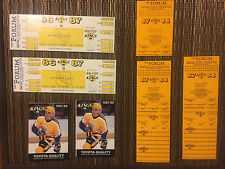(44) Los Angeles Kings 1986-87-88-89-90-91 ticket stubs Stanley Cup all in LA