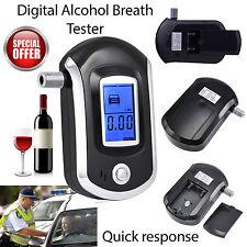 Probador de alcohol-aliento de policía profesional LCD Digital Breathalyser New Reino Unido Stock
