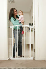 New Dreambaby Chelsea Extra tall 1mt high Security Gate WHITE kids safety pets