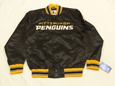 NEU*PITTSBURGH PENGUINS STARTER CASUAL BOMBER USA NHL JACKE*VINTAGE*GR: L*NEU