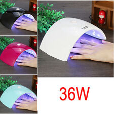36W UV Lampe Nail Art Gel Durcissement LED Dryer Polonais Machine de Séchage