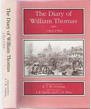 The Diary of William Thomas, of Michaelston-super-Ely nr Fagans Glam abg Denning