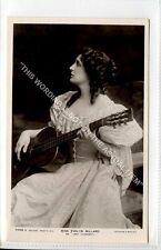 (Ga7712-100) RP of Ms Evelyn Millard Theatre Guitar Actress c1905 Unused VG-EX