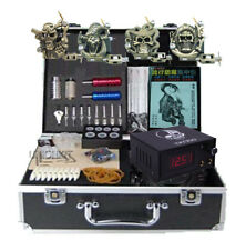 New Tattooing Equipment And Supply Tattoo Machine Power Complete Set