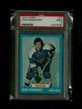 Jean Pronovost 1973 Topps #11 PSA 9 MINT! Pittsburgh Penguins! Flames! Capitals