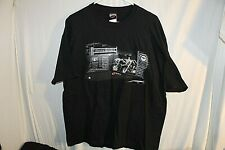 Harley Davidson Shirt TNT Quincy Illinois IL Black Extra Large XL Pool Hall