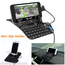 Auto Car Holder Dashboard Stand USB Mount Charger Cradle Non-Slip Pad for iPhone