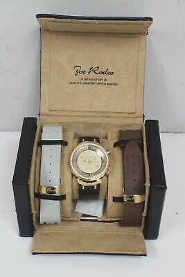 Joe Rodeo Master JJM 26 2.65 Aprox. CTW 265 Diamond Chronograph Watch w/ Box