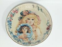 Jan Hagara's Signed Collectors Plate CATHY AND THE ANTIQUE BRU BEBE DOLL #2209A