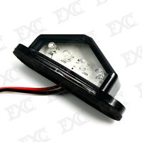 1x Number Plate Light License 4 LED Indicator Rear For Most Truck Trailer Lorry