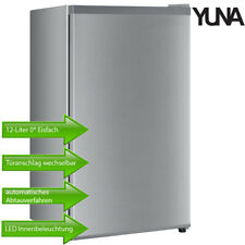 Yuna Kühlschrank Standkühlschrank Freistehend 0* Eisfach 92L silber 40 dB B-Ware