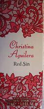 "EdP - ""RED SIN"" 30 ml - Christina Aguilera ++neu++ ovp  ++"