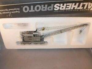 Walthers Proto HO Union Pacific UP American Crane Silver #903056  Pwr'd