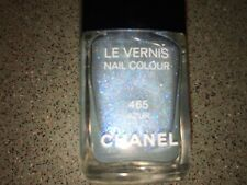 Chanel Vernis AZUR #465 Blue Glitter Nail Polish Limited Edition NEW!!