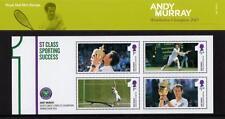 GB 2013 Andy Murray presentación Pack no M21 Miniatura Hoja SG MS3511 # M21