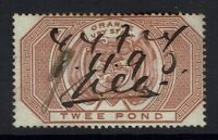Orange Free State - SG# F14 - Used (Pen Cancel) - 082816