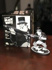 Batman Black & White The Penguin Statue DC Direct Limited Edition 1118/3500