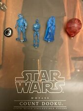 Hot Toys MMS496 Star Wars Episode II Count Dooku Hologram Set