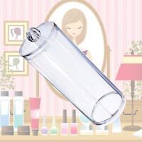 Acrylic Makeup Cotton Pads Box Case Holder Cosmetic Organizer Storage Contain@PK