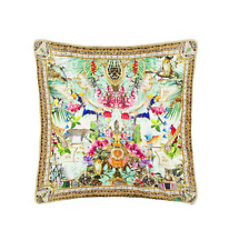 new CAMILLA FRANKS SILK CRYSTALS CHAMPAGNE COAST CUSHION 45x45 cm .