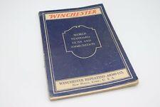 Winchester World Standard Guns & Ammunition - March 1933