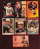 Tom Brady 7 CARD LOT Custom ACEO Oddball Rare Rookies. Awesome