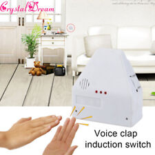 The Clapper Sound Activated On/Off Light Switch Wall Socket Outlet Adapter