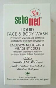 SebaMed Liquid Face & Body Wash 50Ml (made in Germany)