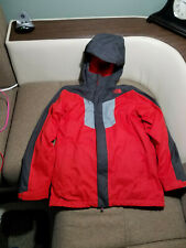 NORTH FACE  3 IN 1 HOODED JACKET W FLEECE LINER YOUTH / JUNIOR LARGE 14-16