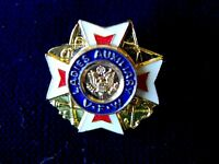 Collectible VETERANS OF FOREIGN WARS VFW Ladies Auxillary Pin
