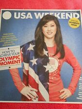 USA WEEKEND JANUARY FEBRUARY 2014 KRISTI YAMAGUCHI OFFERS GOLD-MEDAL OLYMPICS