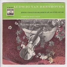 LUDWIG VAN BEETHOVEN 45T EP ROMANZE YEHUDI MENUHIN Violon ELECTROLA 0513 RARE