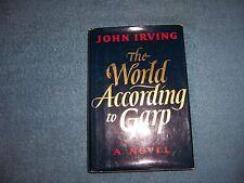 THE WORLD ACCORDING TO GARP by John Irving/1st Ed/HCDJ/Literature/Drama