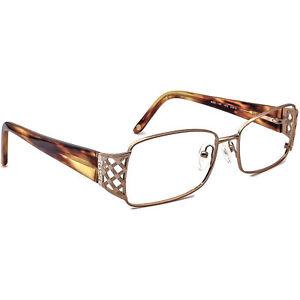 Versace Eyeglasses MOD. 1160 1052 Rose Gold/Tortoise Frame Italy 53[]16 130