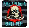 POWELL PERALTA Ripper Buried Hier Aufkleber skateboard händler doppelseitig