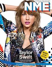 NME MAGAZINE OCTOBER 2015 TAYLOR SWIFT THE LIBERTINES GRACE JONES HURTS
