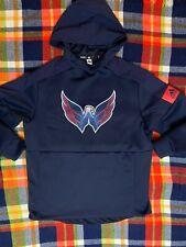 Washington Capitals Adidas Mens NHL Game Mode Pullover Hoodie Navy Large