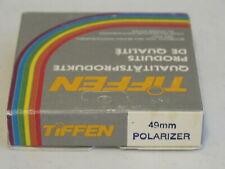 49mm - Tiffen Polarizing Filter NEW   #49m8n2