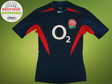 2003-2005 ENGLAND Away (Adult S) Player Issue NIKE RUGBY UNION SHIRT Maillot