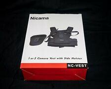 Nicama Dual Camera Strap Multi Carrier Chest Harness Vest