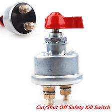 Car HD 2Post Race Master Battery Quick Disconnect Cut Shut Off Safe Kill Switch