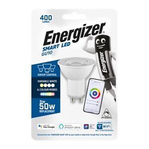 ENERGIZER SMART GU10 LIGHT BULB 5W - COLOUR CHANGING - 400LM - S17350